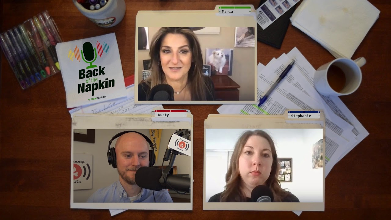 How to Support your Employees w/ Maria Erna | Back of the Napkin Small Business Podcast - Ep. 2