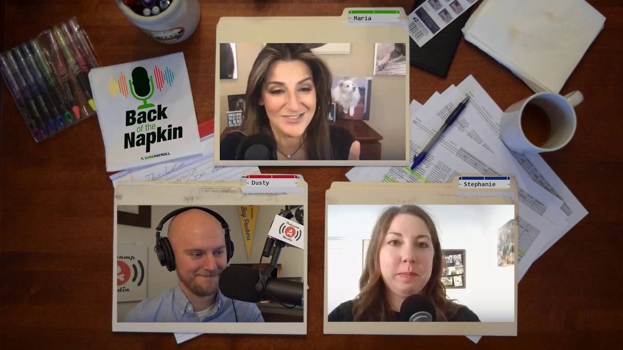 Friday Fails: Maria Erna & Failure in Business | Back of the Napkin Small Business Podcast - Ep. 5